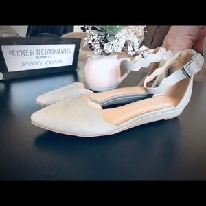 Periwinkle Gray Flats